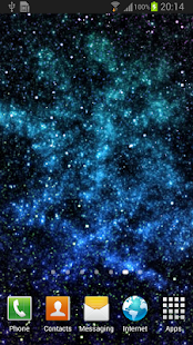 Starfield Parallax Wallpaper - screenshot thumbnail