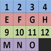 Slide Puzzle Fifteen Vanpuzzle