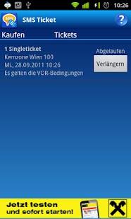 SMS Ticket Österreich- screenshot thumbnail