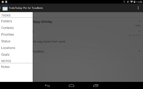 TodoToday Pro for Toodledo v2.3.1 build 20301