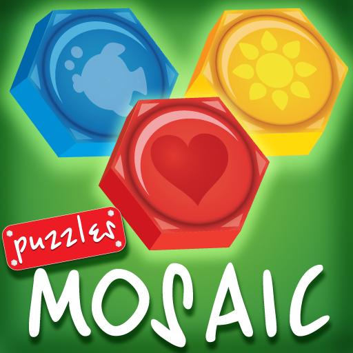 子供のモザイク(パズル) Lite 解謎 App LOGO-硬是要APP