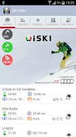 Screenshot of iSKI Italia