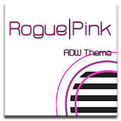 ADW Theme | Rogue Pink