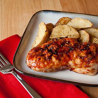 Grilled Summer Pork Chops