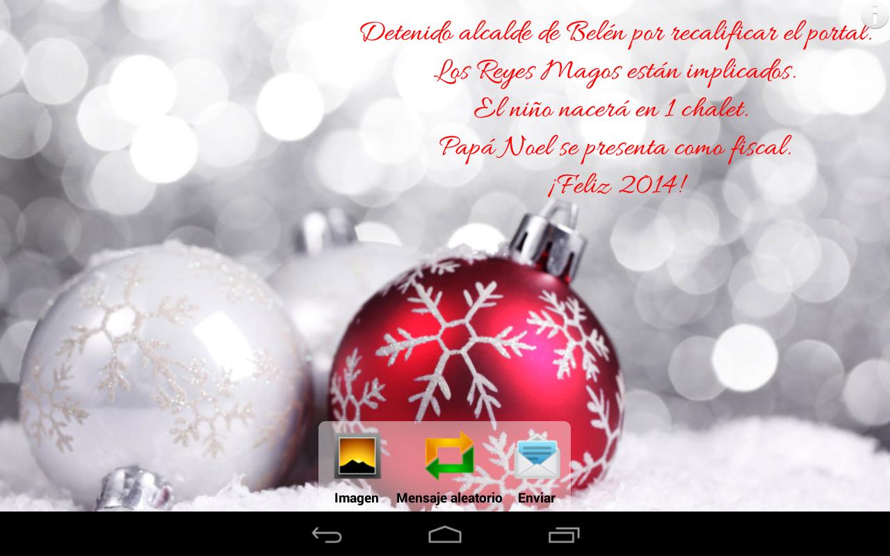 Feliz Navidad - Mensajes - screenshot
