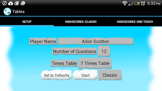 Fun Times Tables Maths Game - Android Apps on Google Play