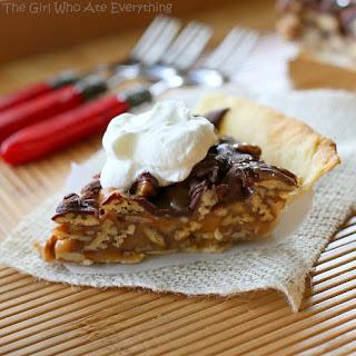 Praline Turtle Pie