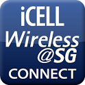iCELL Wireless@SG Connect icon