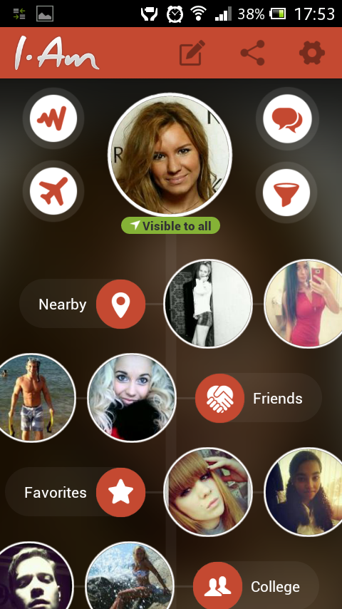 I-Am - Meet new people - screenshot