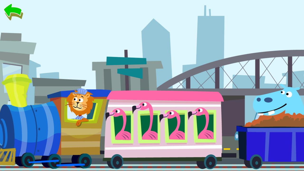 Zoo Train - screenshot