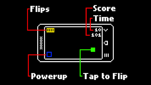 Quik: Gravity Flip Platformer Juegos para Android screenshot