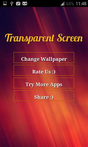 透明屏幕啟動|玩攝影App免費|玩APPs