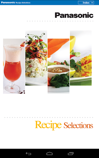 Panasonic English recipes