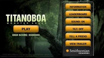 Screenshot of Titanoboa: Monster Snake Game