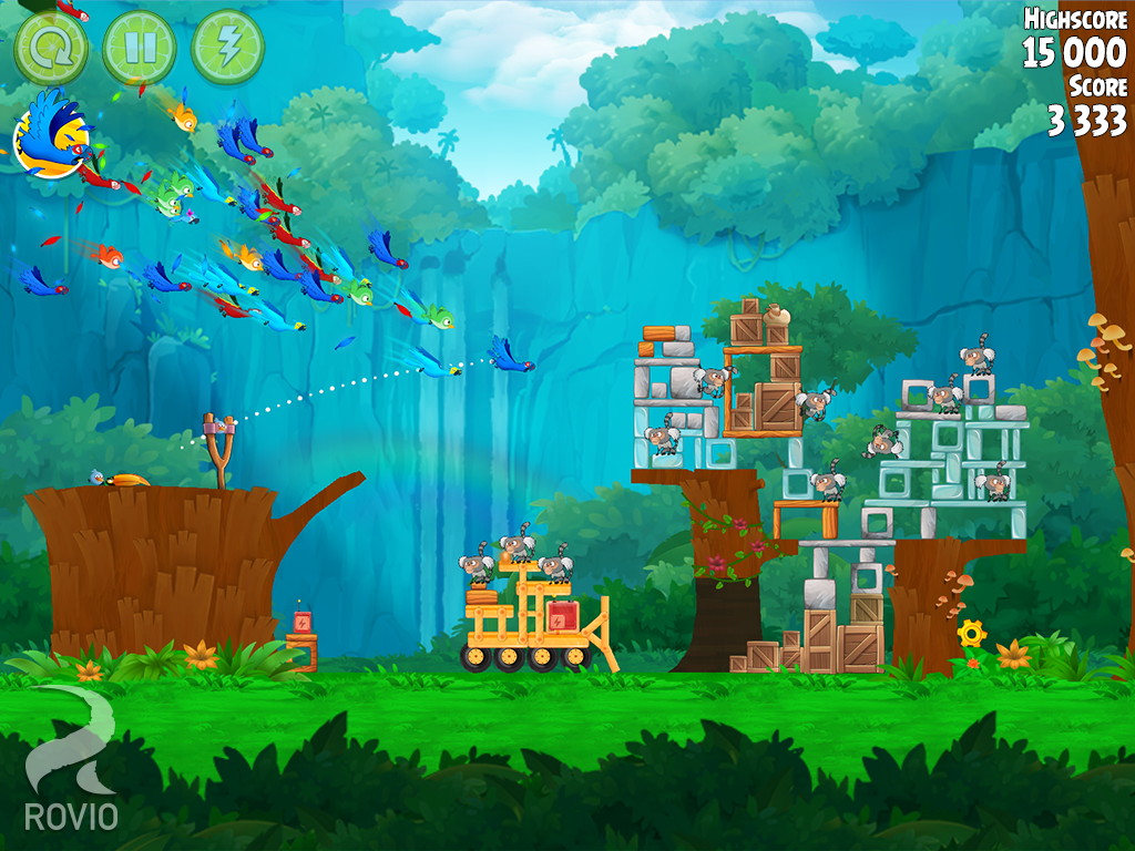 Angry Birds Rio- screenshot