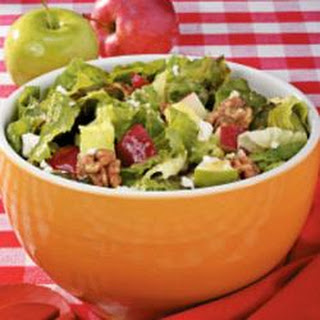 Apple-Feta Tossed Salad.