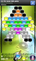 Screenshot of Hexagon - shoot bubbles