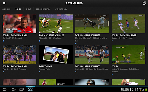 CANAL RUGBY APP - screenshot thumbnail