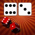Dice family game icon