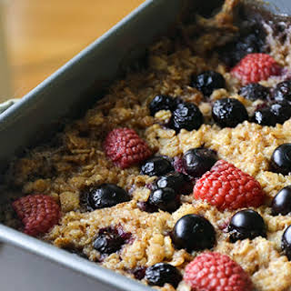 Berry Baked Oatmeal.