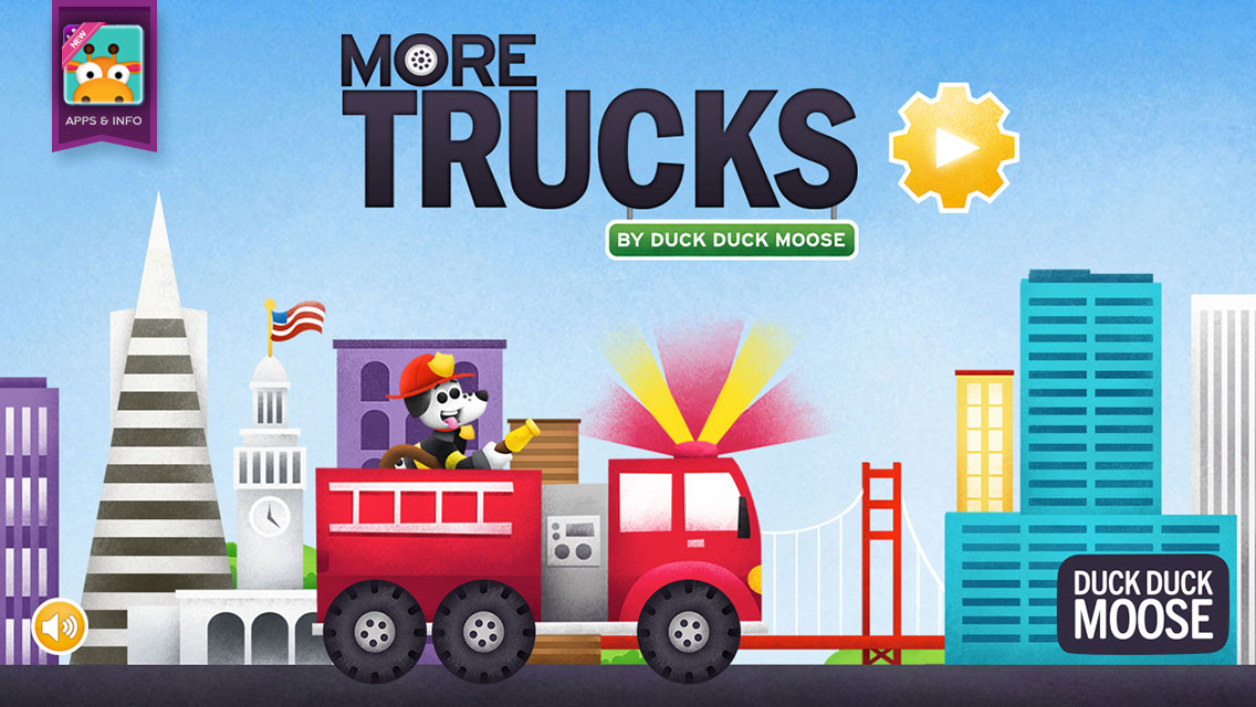 More Trucks by Duck Duck Moose - screenshot