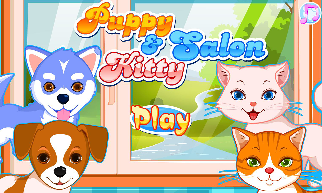Puppy & kitty salon- screenshot