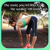 Gym Motivation Quote Wallpaper