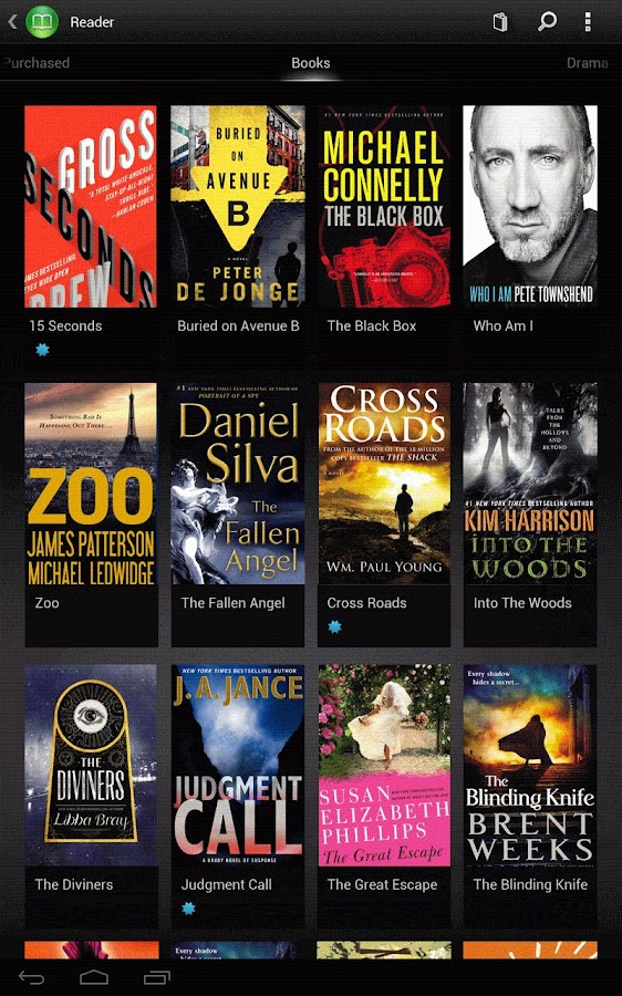 Reader - eBooks from Sony - screenshot