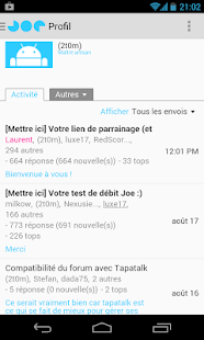 Joe Mobile | Suivi Conso - screenshot thumbnail
