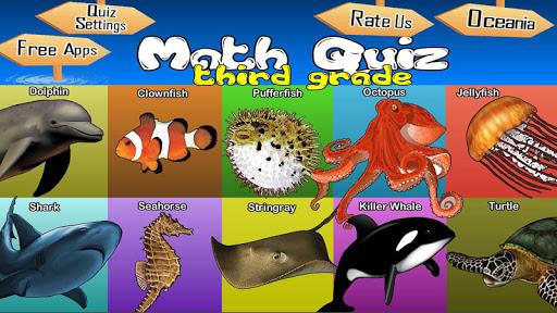 Math Quiz For Third Grade