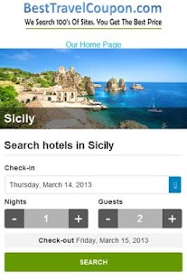Travel Search Engine - screenshot thumbnail