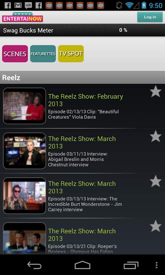 EntertaiNOW TV Mobile - screenshot