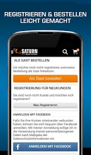 Saturn Deutschland Screenshot