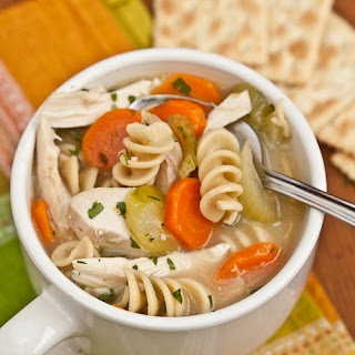 Hearty Turkey (or Chicken) Noodle Soup.