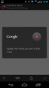 Sound Off Food Tracker - screenshot thumbnail