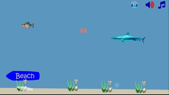 Piranha Shark Attack- screenshot thumbnail