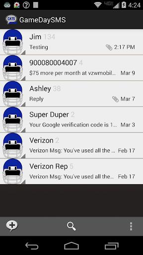 GameDay SMS - Kentucky