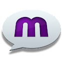 mChat – chat app for Facebook logo