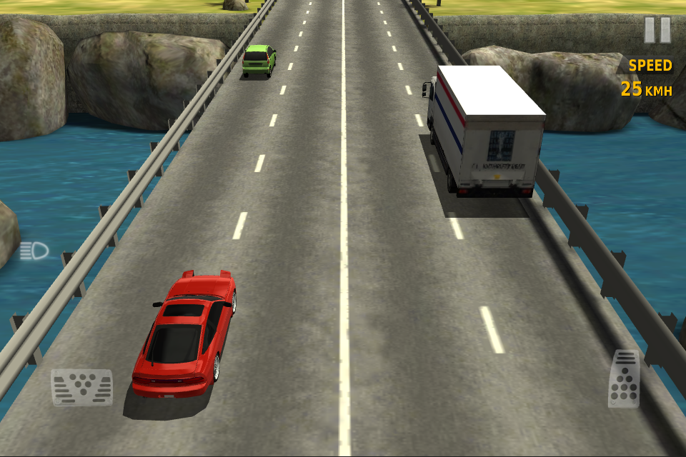 Traffic racer на планшет