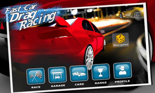 Fast Car Drag Racing