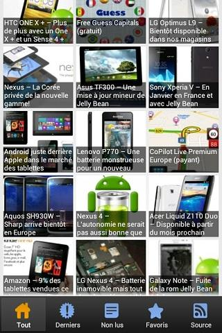 Applications Android France