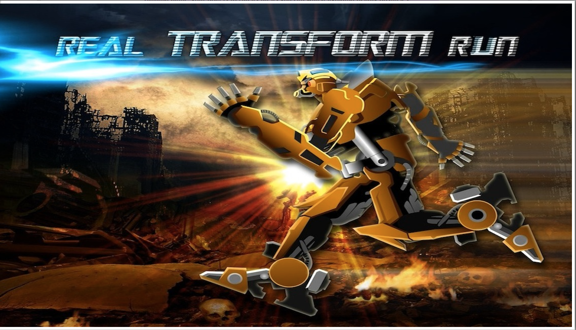 Machine Transformer Run -HD - screenshot