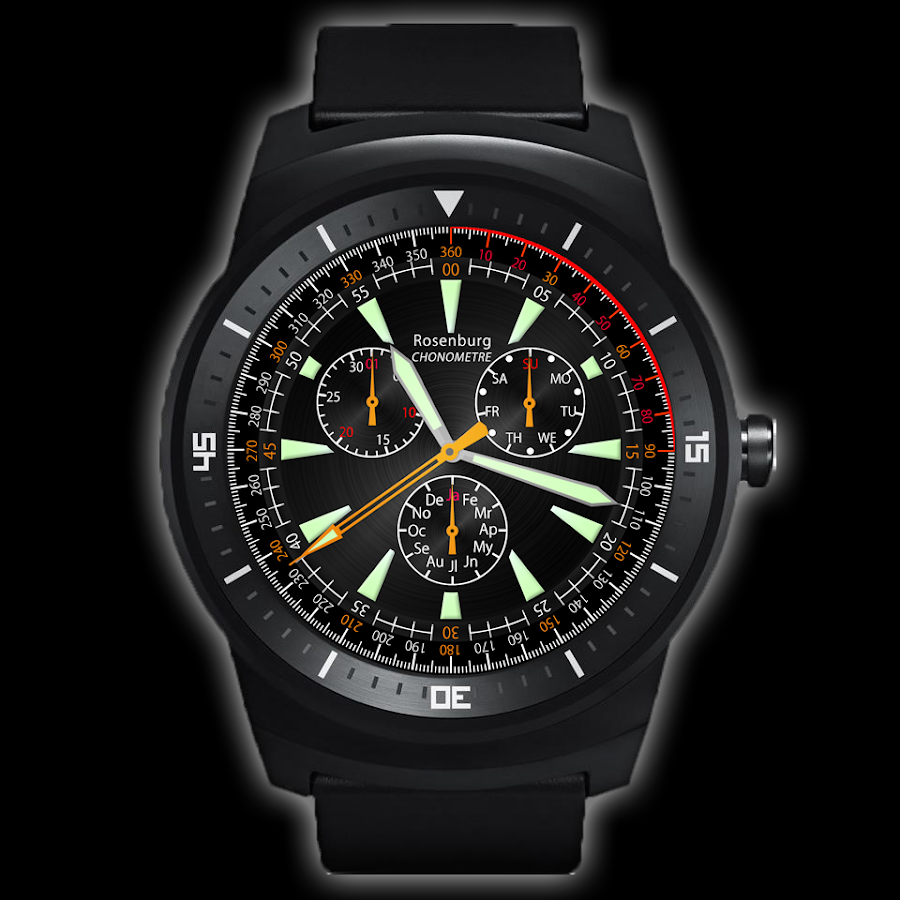 A42 WatchFace for Android Wear- screenshot