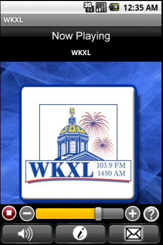 WKXL - screenshot