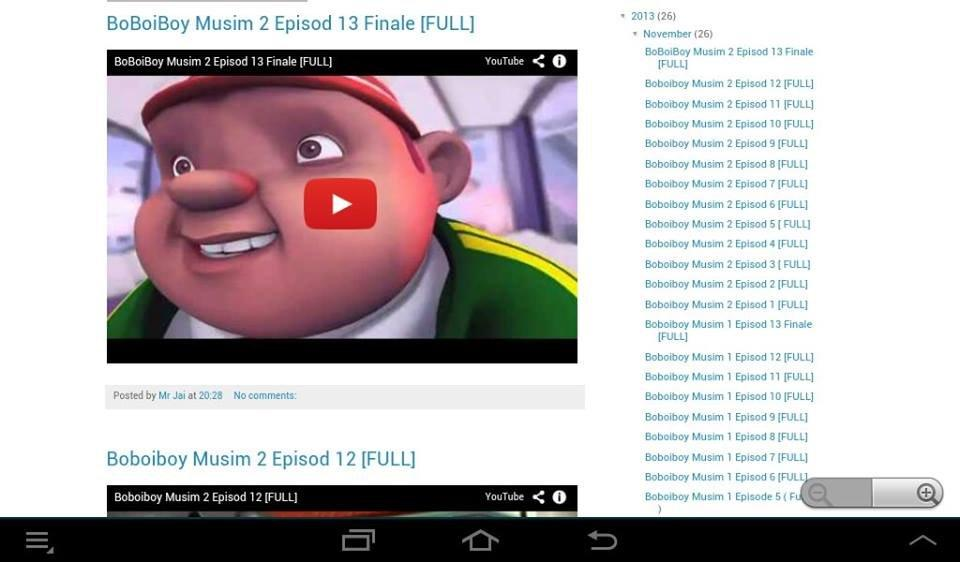 boboiboy - screenshot