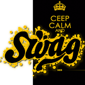 Ceep Calm and SWAG Go Locker