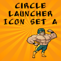 Icon Set A ADW/Circle Launcher logo