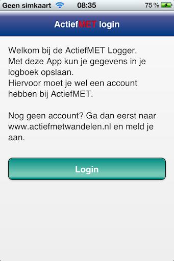 ActiefMET Logger