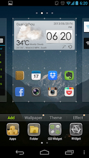 GO Launcher EX (Español) - screenshot thumbnail
