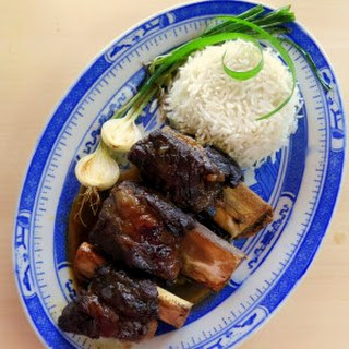 Soy-braised Pressure Cooked Beef Ribs